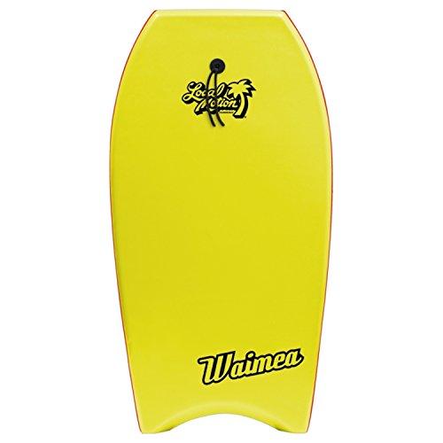 Local Motion Waimea Body Board, Yellow, 42″