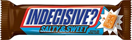Snickers Salty & Sweet Chocolate Candy King Size Bars, 3.23 Ounce (Pack of 24)