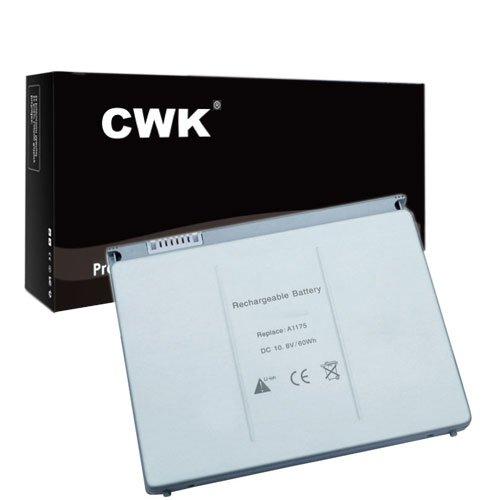 CWK New Replacement Laptop Notebook Battery for A1175 A1226 Apple MacBook Pro 15 MA464LL MA464LL/A MA895LL MA896LL A1175 MA348G/A Apple MacBook Pro 15 Inch MA600 MA600J/A MA463LL/A Apple MacBook