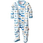 Magnificent Baby-Boys Newborn Footie, Hot Dogs, Newborn