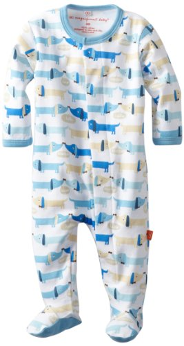 Magnificent Baby-Boys Newborn Footie, Hot Dogs, 3 Months