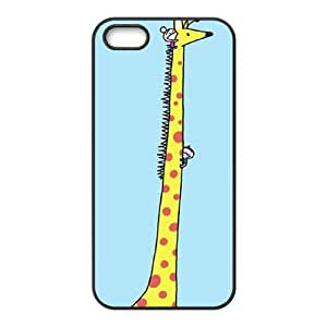QSWHXN Giraffe 3 Phone Case For iPhone 5,5S [Pattern-3]