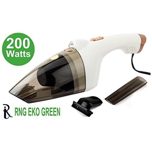 RNG EKO GREEN 200 Watt Cyclonic Power Wetdry Car Vacuum Cle