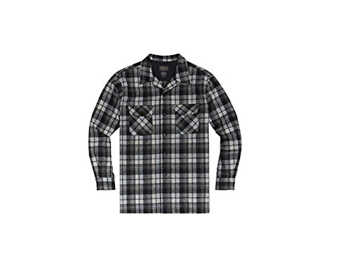 Pendleton Men's Big & Tall Long Sleeve Board Shirt, Grey Beach Boy, LG from Pendleton