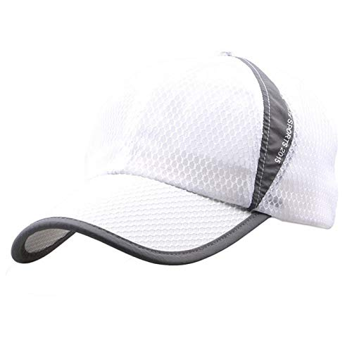 - Sun Protection Sunscreen Net Cap Casual Outdoor Foldable Mesh Breathable Quick-Dry Baseball Cap for Men & Women