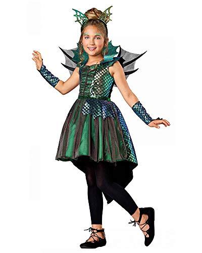 Seasons Direct Halloween Girls Deluxe Dragon Costume