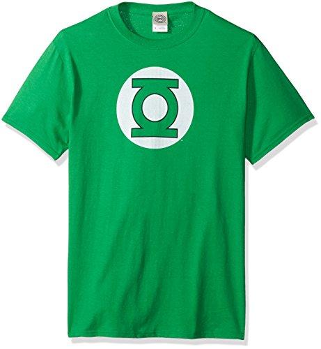 DC Comics Men's Green Lantern Short Sleeve T-Shirt, Kelly, 2XL ()