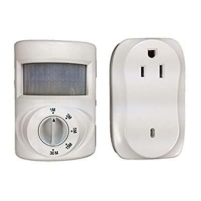 Wireless Indoor Motion Activated Light Control