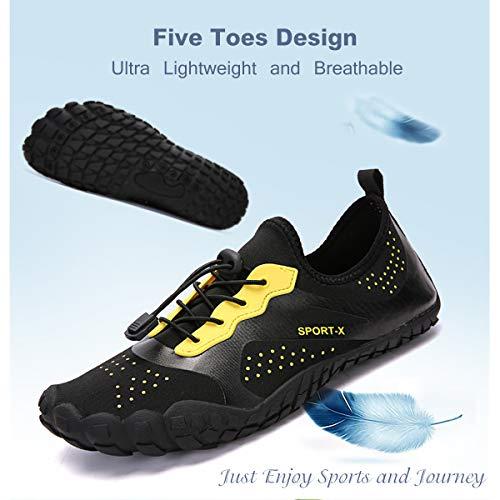 Rapide Anti En Sport Noir Pour Hommes Respirant drapantes Plein lthws1817 Air De Chaussures Schage Pieds Nus Airavata qTOvgtq