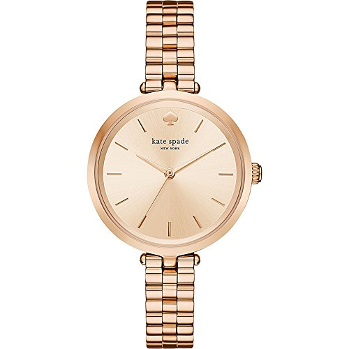 kate spade new york Women's 'Holland' Quartz Stainless Steel Casual Watch, Color:Rose Gold-Toned (Model: KSW1134)