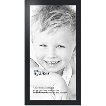 Amazon.com - ArtToFrames 12x24 inch Black Picture Frame ...