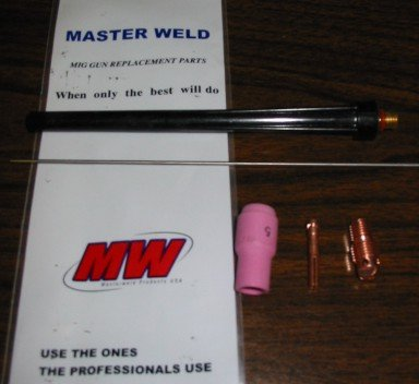 WP20-25R TIG TORCH ''TIGMASTER'' WATER-COOLED 250AMP - MADE IN USA
