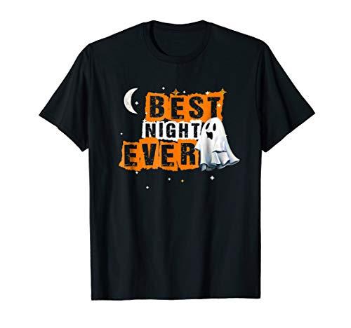 Halloween T-Shirt Best Night ever ! Halloween Gift idea! -