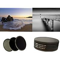 HAIDA PRO II Digital MC Neutral Graufilter Set bestehend aus ND8, ND64, ND1000 Filtern 77mm inkl. Stack Cap Filtercontainer und Cap
