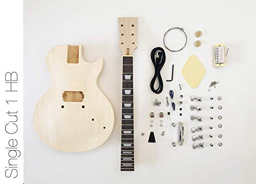 DIY Electric Guitar Kit Singlecut 1 HB Build Your Own Guitar Kit