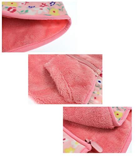 Feidoog Toddler Polar Fleece Jacket Hooded/Baby Boys Girls Autumn Winter Long Sleeve Thick Warm Outerwear