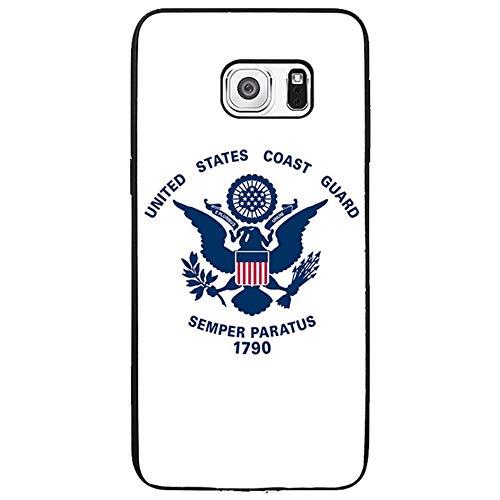 Skinsends United States Coast Guard - Coasties Phone Case Compatible with Samsung s6 Edge Plus, Hard Plastic Case Cover Compatible with Samsung Galaxy s6 Edge Plus