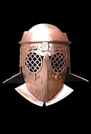 provocator Casco – Bronce, romana provocator Casco, Vikinga, LARP