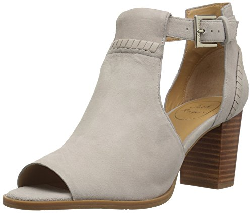 Jack Rogers Women's Cameron Fashion Boot, Dove Grey Suede, 8 Medium US -