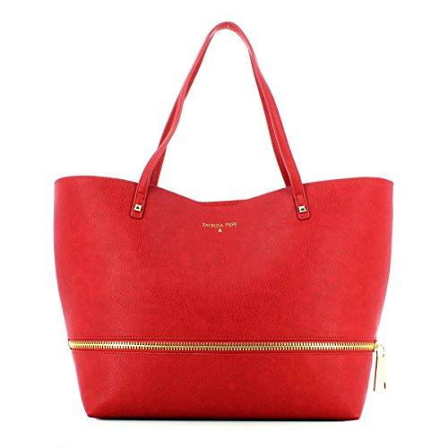 PATRIZIA PEPE Shopping para la mujer de cuero sintético Rot, Rot