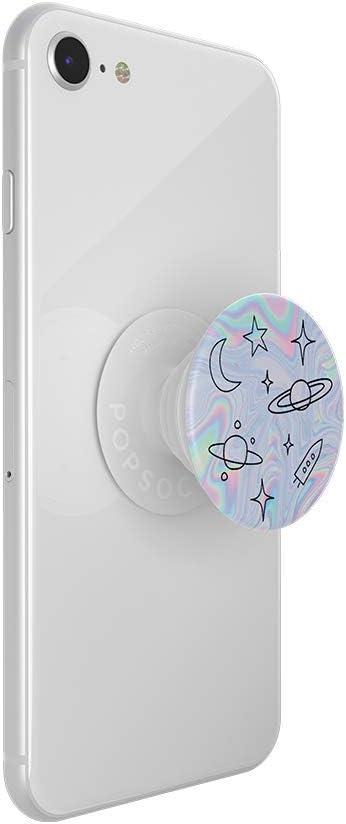 Peaks Blue Soporte y Agarre para Tel/éfonos M/óviles y Tabletas con un Top Intercambiable PopSockets PopGrip