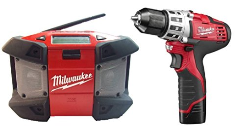 Milwaukee 2492-22 M12 Combo Kit 3/8-Inch Drill Driver & R...