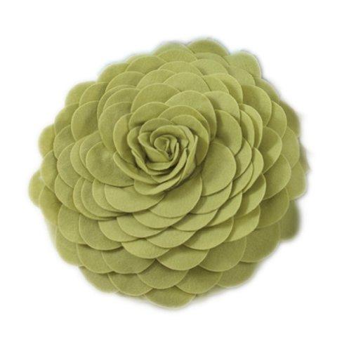 Eva's Flower Garden Decorative Throw Pillow With Insert - 13
