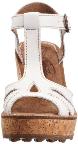 Off Beige de Beige FLY para Zapatos White London mujer piel q7wn8fRx6