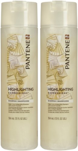 Pantene Pro-V Highlighting Expressions Daily Color Enhancing Shampoo - 13 oz - 2 (Gentle Shine Enhancing Shampoo)