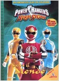 Salva il mondo. Power Rangers Ninja Storm: Amazon.es ...