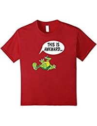 This is Awkward Turtle on his back Fun T-shirt