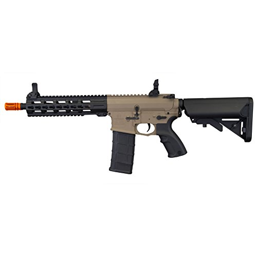 (Tippmann Tactical Commando AEG CQB 10.5in Airsoft Rifle Tan)