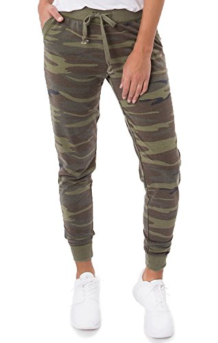 Z Supply The Camo Jogger Pant  Large  Green