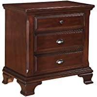 Elements Cantebury Nightstand, Cherry