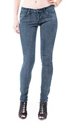 (HyBrid & Company Womens Super Comfy Stretch Denim 5 Pocket Jean P22890SK Medium BLU 7)