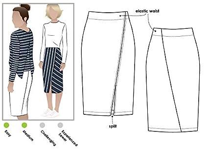 Amazon Style Arc Sewing Pattern Taylor Knit Skirt Sizes 04