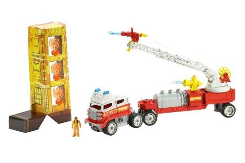 Mattel Matchbox Mega Rig Fire Brigade