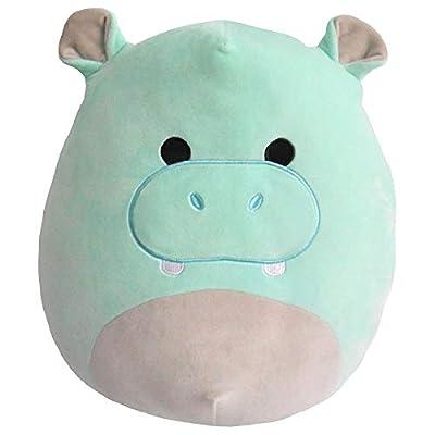 "Squishmallow - Hank The Aqua Hippopotamus - 16"": Toys & Games"