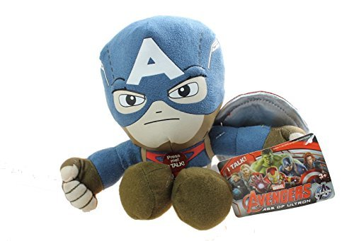 Marvel Avengers: Age of Ultron Captain America Talking Plush Figure (Talking Captain America compare prices)