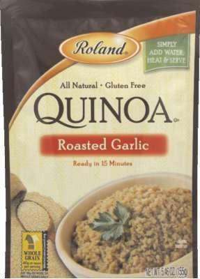 Roland Roasted Garlic Quinoa 5.46 Oz (Pack of 6) - Pack Of 6 (Roland Garlic)