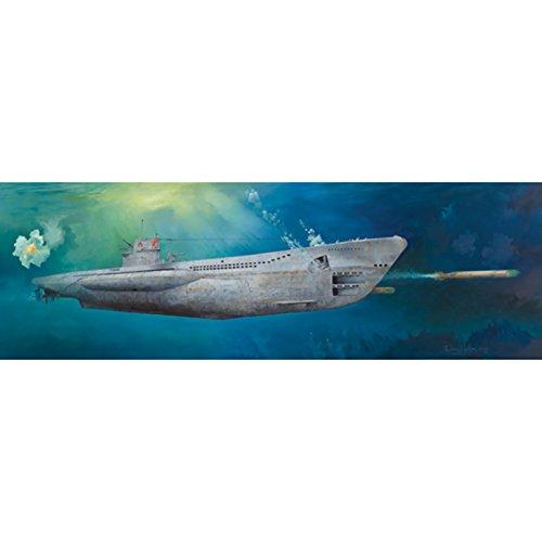 (Trumpeter 1/48 06801 DKM U-Boat Type VIIC U-552)