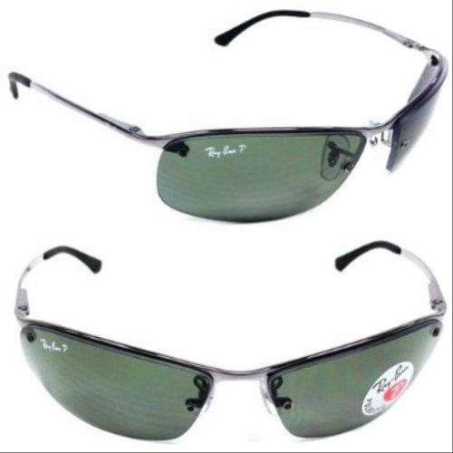 Ray-Ban RB3183 - GUNMETAL Frame POLAR GREEN Lenses 63mm Polarized in the UAE.  ray ban glasses price in uae ray ban optical prescription explained b3b4cdd638