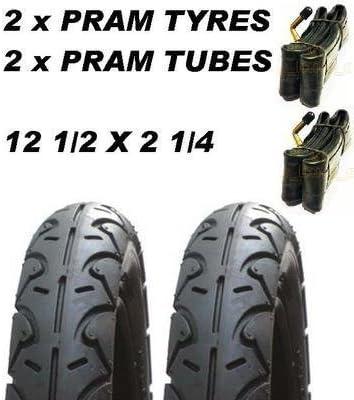 3 X Pneus de Landau /& 3 X Tubes 12 1//2 X 2 1//4  Poussette Montagne Terrain Osann Beebop