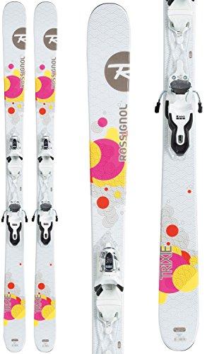 [Rossignol Trixie Skis + Xpress 10 Bindings - 2017 Women's - 148 cm] (Womens All Mountain Skis)