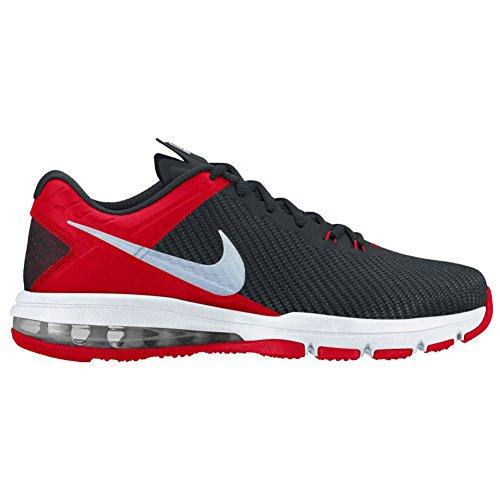 Nike Mens Air Max Full Ride Tr 1.5 Scarpe Da Allenamento Università Rosso / Argento Metallizzato / Nero