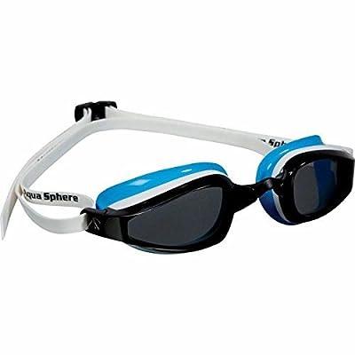 MP Michael Phelps K180 Women Goggle Smoke Lens White/Baia by Aqua Sphere