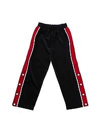 Toddler Girls Sporty Casual Pants Split Side Stripe Joggers Drawstring Bottoms