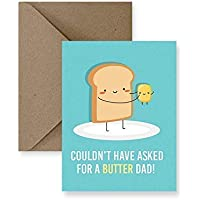 Butter Dad Father's Day Greeting Card
