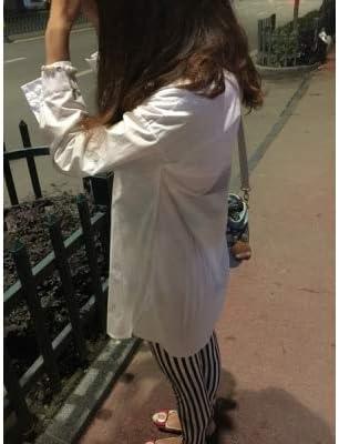 HAOYIHUI Womens Casual Long Sleeve Boyfriend Pocket Shirt Dress Tunic Top