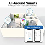 Mini Smart Plugs - Aoycocr WiFi Outlet Compatible